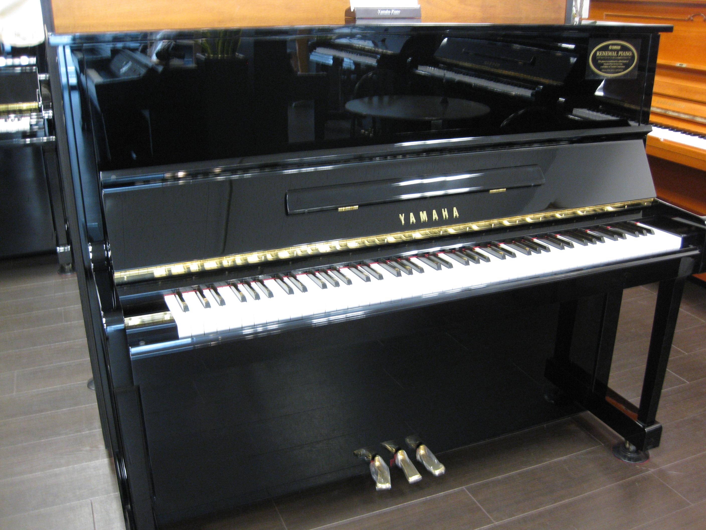 ヤマハ リニューアルピアノ  U10BL
